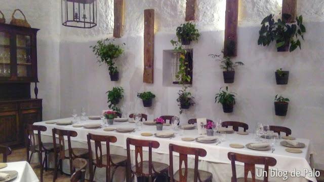 Salón principal del restaurante Casa Elena