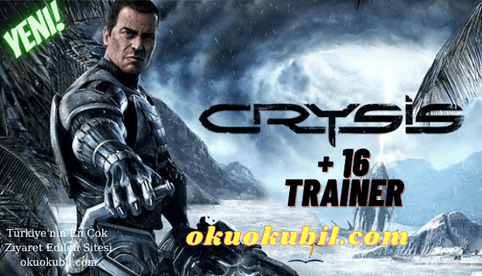 Crysis: 1.1.1.6156 Cephane +16 Trainer Hilesi Steam – 32 Bit İndir