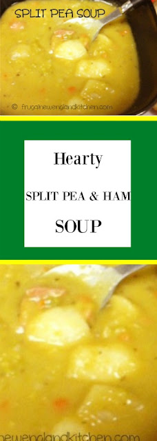 Hearty Split Pea Soup with Ham Recipe