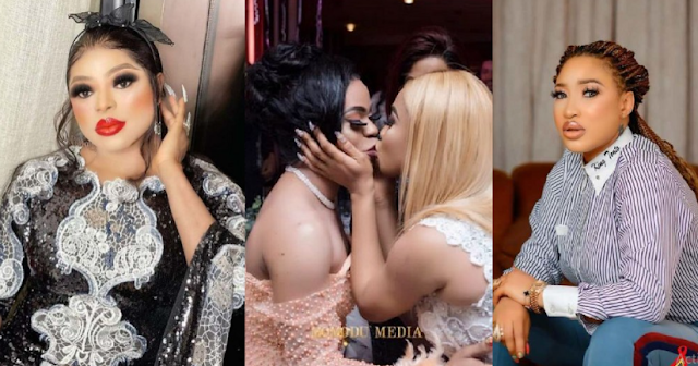 """""""Tonto you unfollowed me and I blocked you"""" – Crossdresser, Bobrisky And Actree, Tonto Dikeh Relationship Has Finally Hit The Rock"""