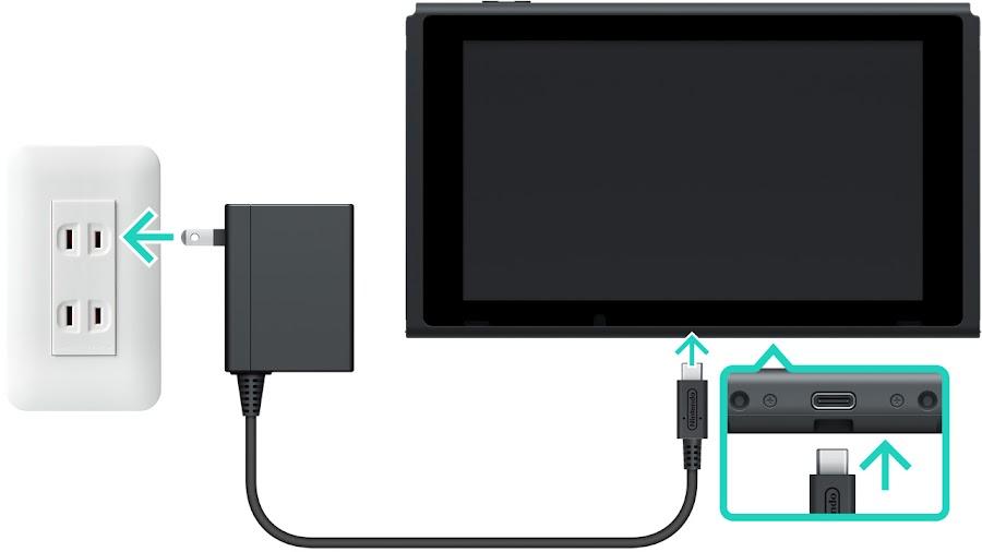 francisco perez yoma nintendo switch cargador usb bateria
