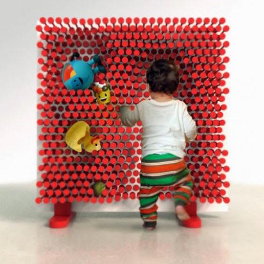 sensory wall for children