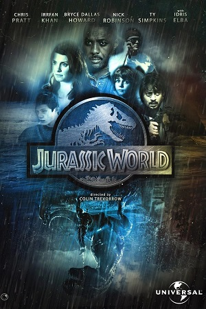 Jurassic World (2015) 720p | 1GB | Dual Audio [Hindi + English] Bluray