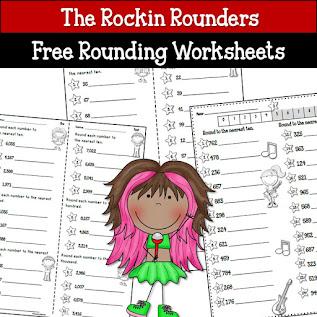 Free Rounding Worksheets