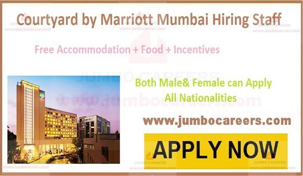 Recent Hotel jobs, 5 star hotel jobs,