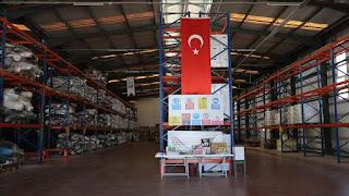 الإغاثة الإنسانية التركية ترسل 220 ألف طرد غذائي إلى إدلب