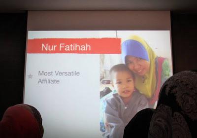 Most Versatile Affiliate 2012