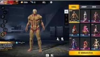 Promo Game Free Fire, Bundle Armored Titan di Armored Bullseye