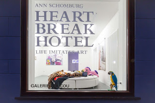 Ann Schomburg Heartbreakhotel, Life immitates Art, Gallerie Coucou Kassel. Photowalk by Milen Krastev