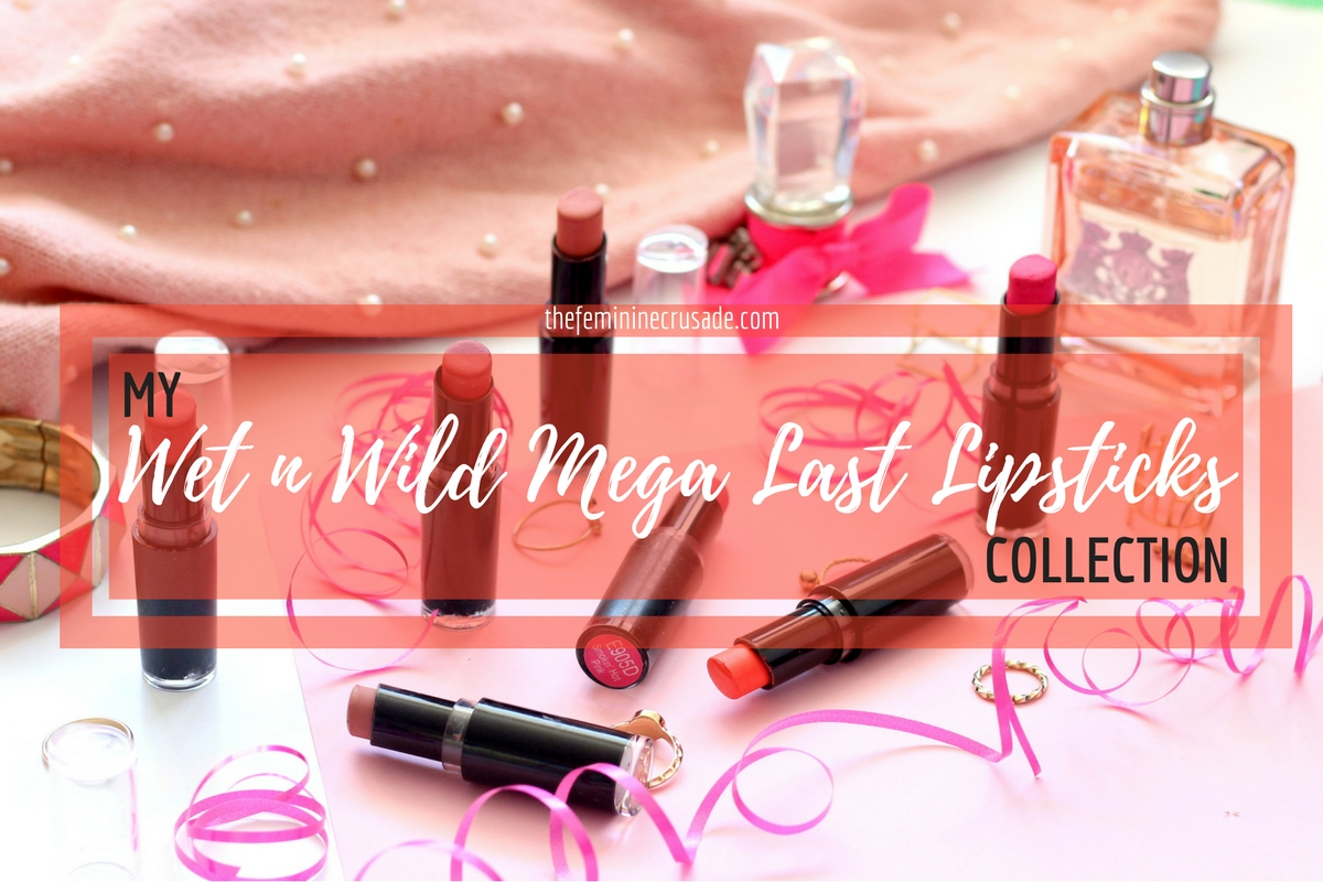 Wet n Wild Mega Last Lipstick Collection