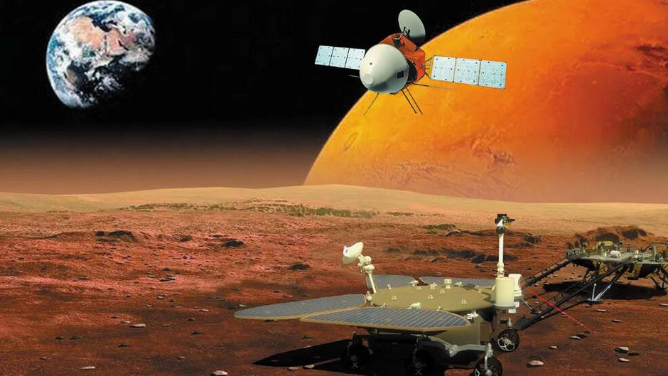 China Will Attempt To Land On Mars On Friday