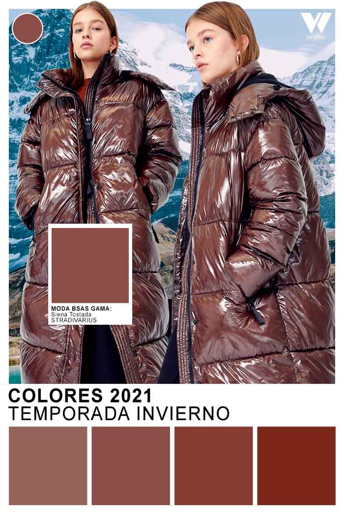 Colores brillantes de moda otoño invierno 2021 camperas de mujer