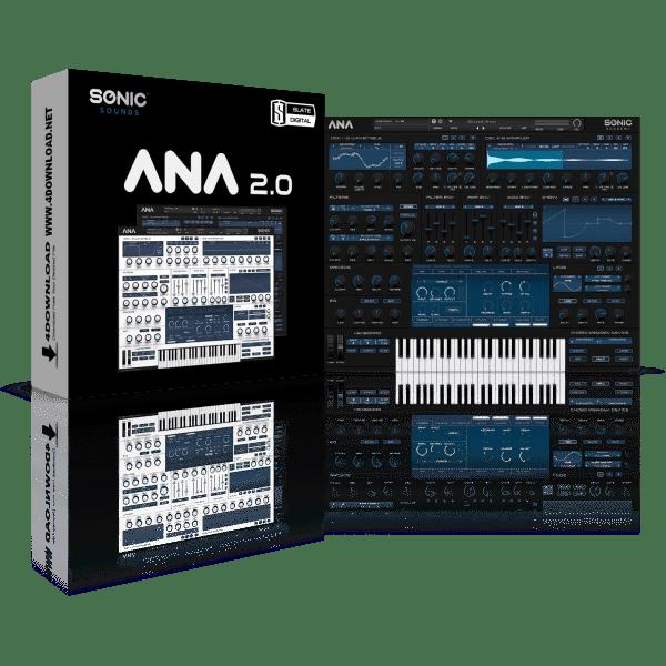 Sonic Academy ANA 2 Slate Bundle v2.0.94 Full version