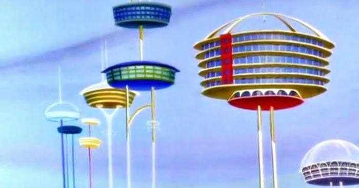La casa del futuro dai cartoni animati spazioibrido for Case futuristiche