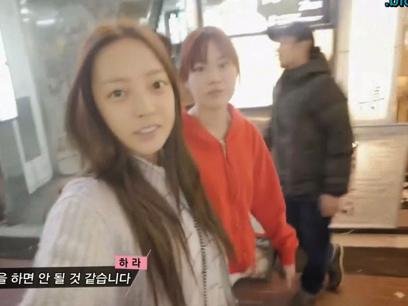 Youngji and Hara