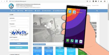 Cara Mendapatkan Update Informasi Otomatis Dari Web UNBK di HP Android