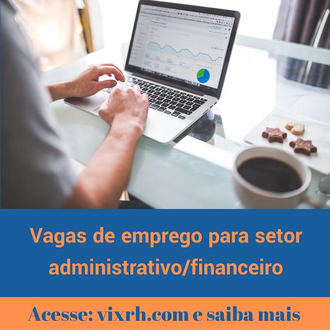 Oportunidades de emprego na Emídio Pais para setor administrativo financeiro 2020