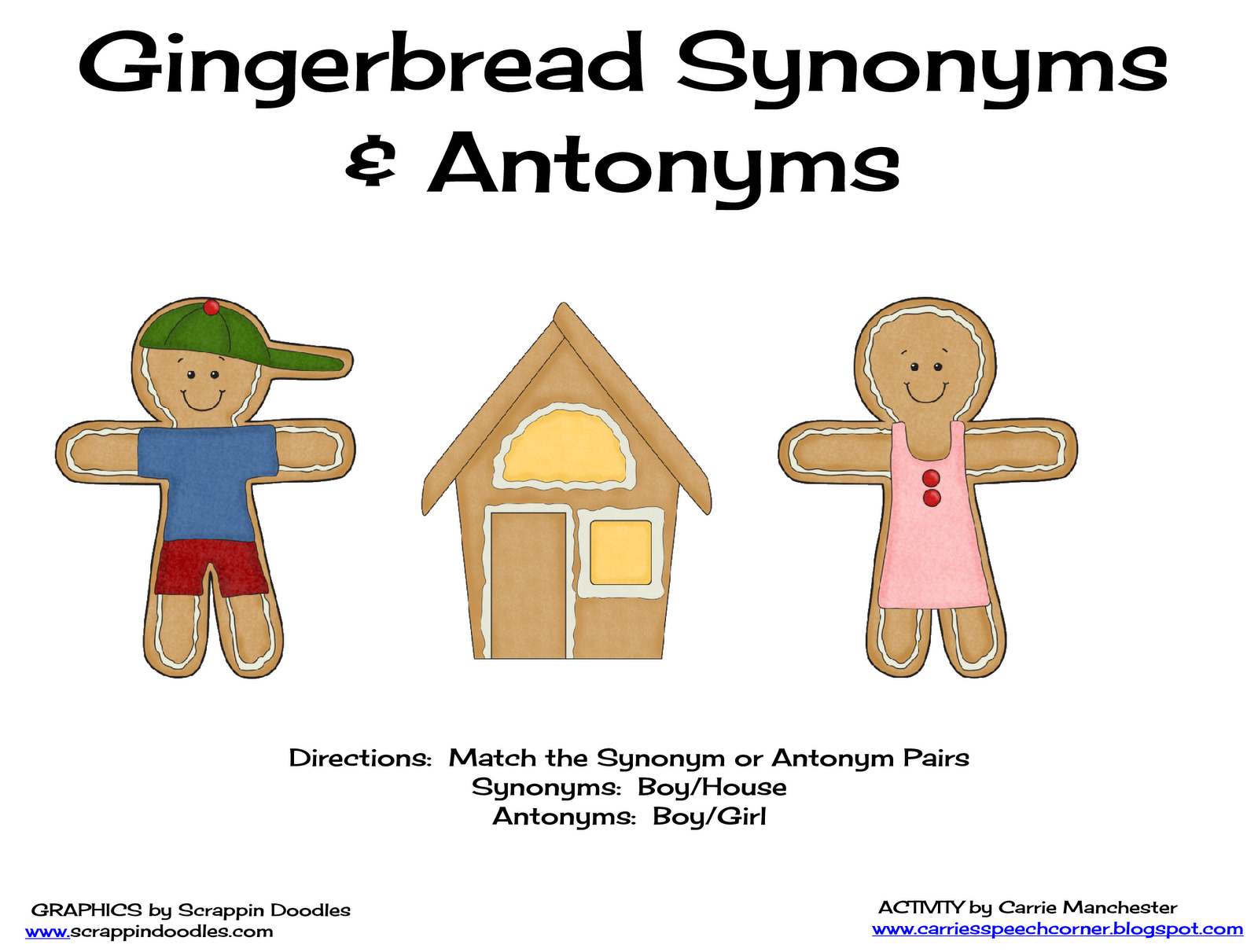 Download Free Synonym And Antonym Classroom Games