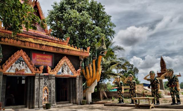 Pagode de Kampong Chamlong, le bâtiment principal