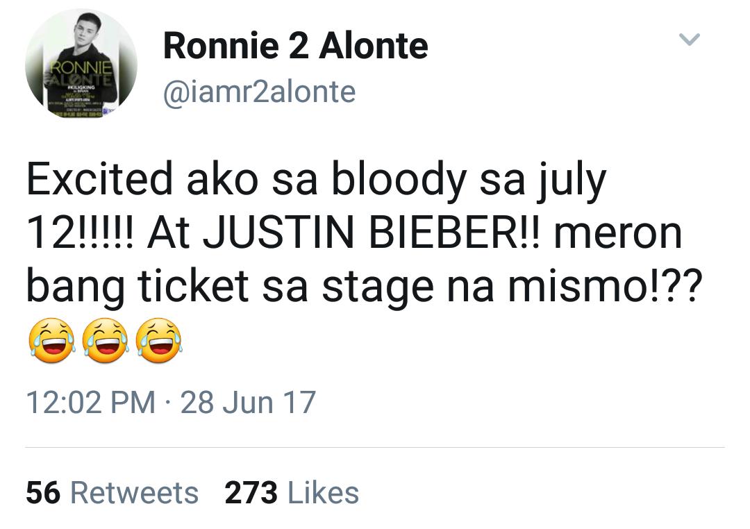 Justin Bieber 2017 Philippine concert