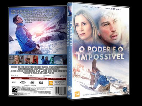 Capa DVD O Poder e o Impossível [Custom]