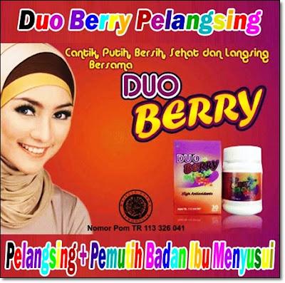 Duo berry pelangsing tubuh alami