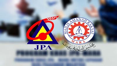 Permohonan Program Khas JPA-MARA (PKJM) 2020 Online