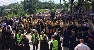 В Киеве состоялся крестный ход УПЦ МП