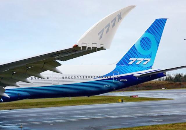 Boeing 777-9X specs