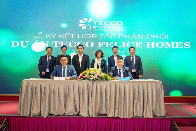 Đất Xanh Miền Đông hợp tác và ký kết Tecco Group