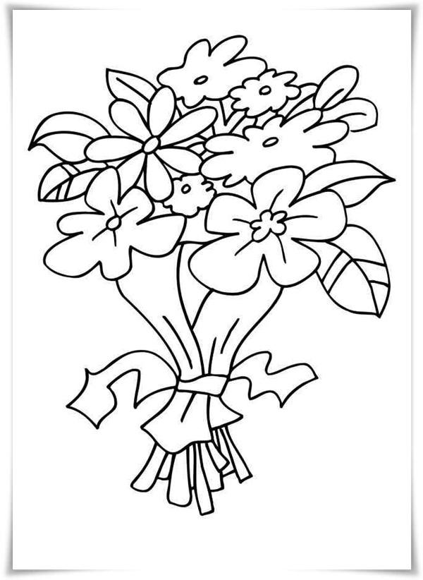 Ausmalbilder Zum Ausdrucken Ausmalbilder Blumen