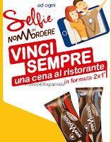 Logo Selfie da ''Non Mordere'' e vinci sempre una cena al ristorante 2x1
