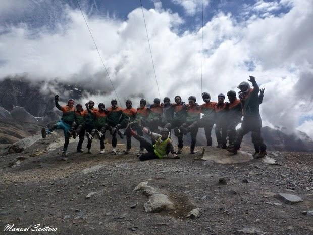 La Cumbre, starting point