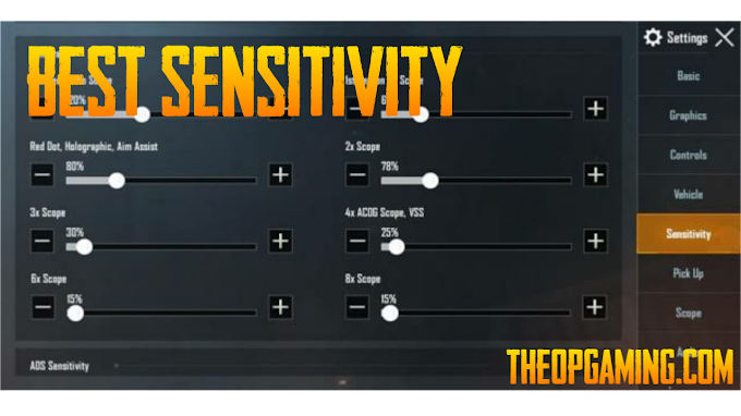 Best Sensitivity Setting for Less Recoil in PUBG Mobile