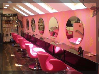 Belle Morte Beauty: Rockabilly Pink Hairdressing Upstyle ...