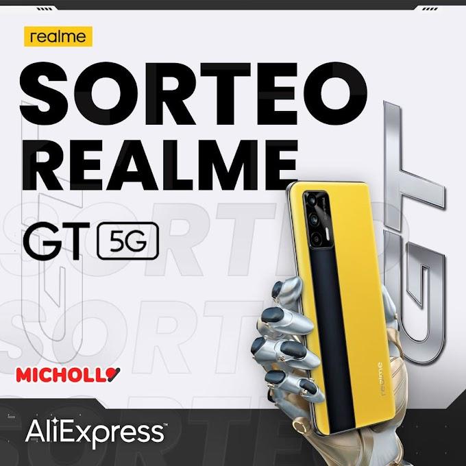 Sorteio de um Realme GT 5G grátis
