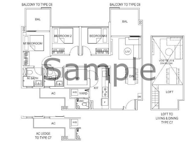 Deluxe Residences Floor Plan