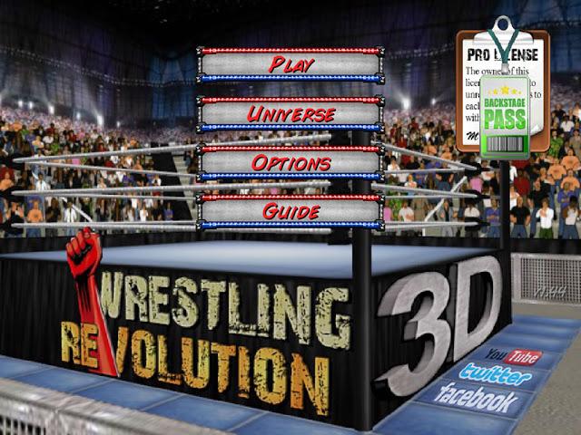 Download Free Game Wrestling Revolution 3D Hack (All