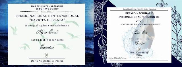 APURE: Poeta y escritor apureño Aljer Ereú Pérez es merecedor de importantes galardones y reconocimientos en Argentina.