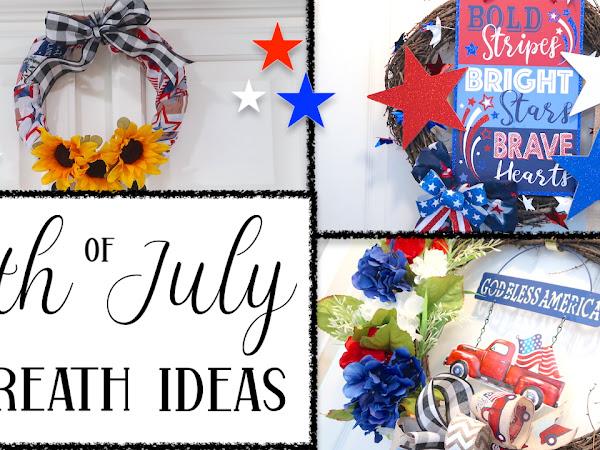 4th of July Wreath Ideas 2021