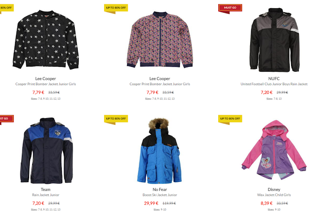 http://www.sportsdirect.com/winter-essentials/jackets-and-coats#dcp=1&dppp=100&OrderBy=discountpercent_desc&Filter=AFLOR%5EBoys,Girls,Unisex+Kids
