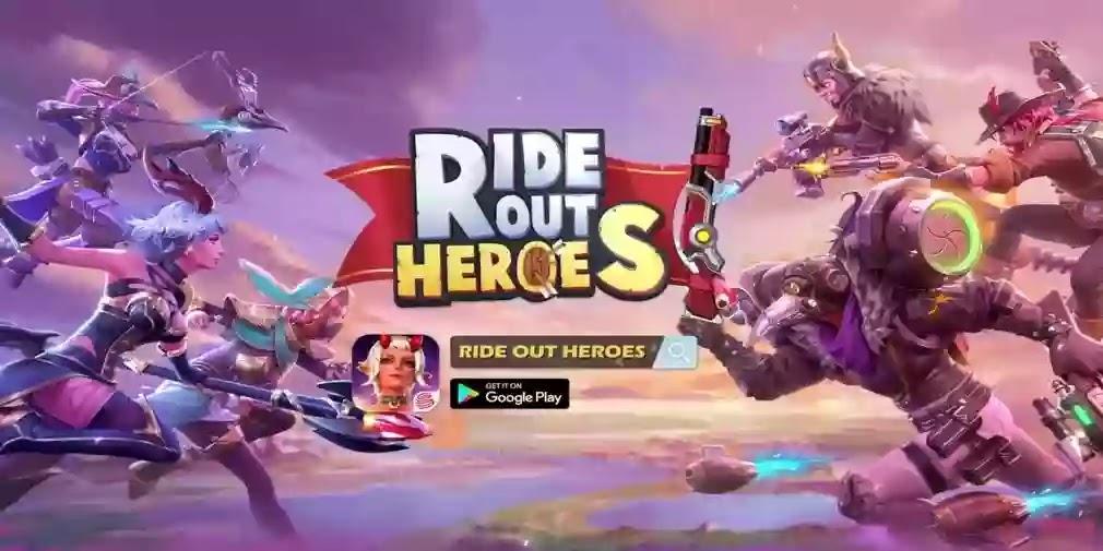 مراجعه لعبة Ride Out Heroes العب باتل رويال Battle Royale بشكل مختلف