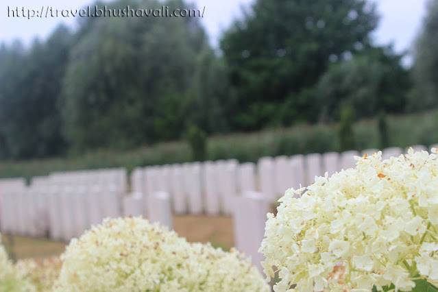 Graves of Indian Soldiers of First World War - Bedford Cemetery, Ypres, Belgium