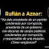 """Rufián compara a Aznar con Vito Corleone: """"A usted solo le falta el gato"""""""