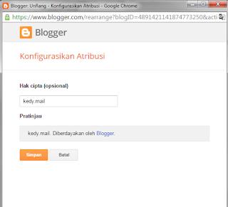 Widget bawaan blogger tidak bisa di hapus