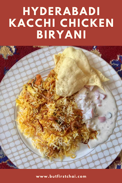 Hyderabadi Kacchi Chicken Biryani