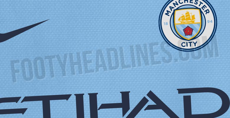 Manchester City 18-19 Home Kit Released - Footy Headlines