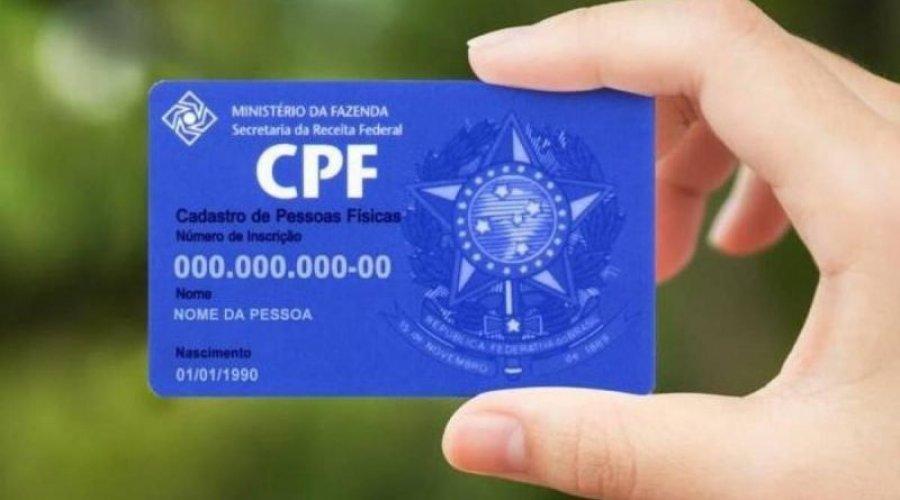 Governo do Estado atualiza CPF de estudantes para pagamento de vale-alimentação