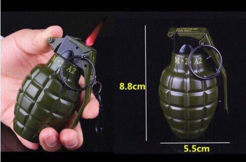 51k - Bật lửa lựu đạn lớn giá sỉ và lẻ rẻ nhất