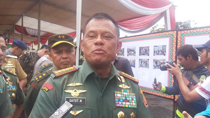 Panglima TNI Jenderal TNI Gatot Nurmatyo